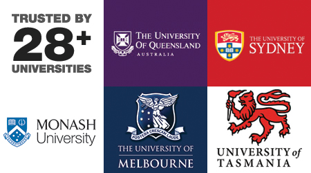Trusted by Australian Universities